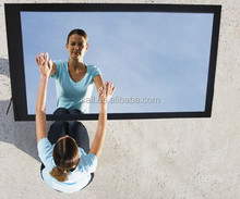 """46"""" lcd media player network interactive mirror tv"""