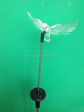 Christmas ornaments Solar Stick Light with color changing hawk