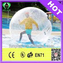 2014 Hot sale inflatable giant grow in water balls