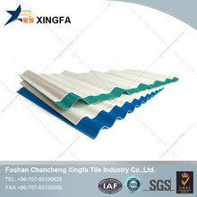 Three layers heat insulation plastic roof tile