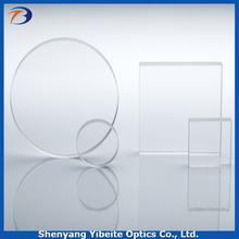 YBT Supply Fused Silica Glass AR coating CaF2 Calcium Fluoride Optical Instrument Window