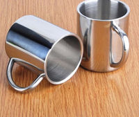 Stainless Steel Outdoor Double Wall Cup 280ml