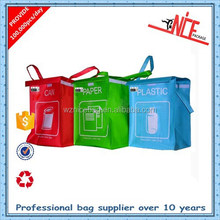 factory price pp woven garbage bags for classification processing