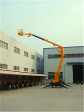 car carrying arm folding portable lifter widely used in mulnicipal/portable lifter/hydraulic liftermanual lifter/