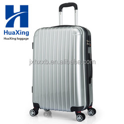 China Supplier high quality ABS PC trolley luggage / fashionable travel suitcase