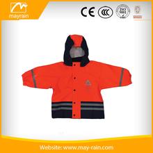 Child Polyester Rain Jacket