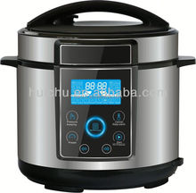 Low Price 6l multifunction electric pressure cooker golden champagne