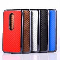 Carbon Fiber Plastic Hard Skin Back Phone Case Cover For Motorola Moto G3