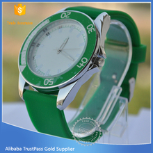 Fashion most popular dot silicone watch colors