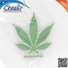 CustomePaper air freshener /hanging car air freshener/paper car perfume