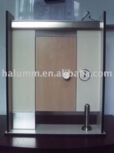 Stainless Steel Toilet Cubicle aluminium accessories hpl accessories fire resistance water proof