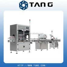 honey automatic filling machine capping and labeling line