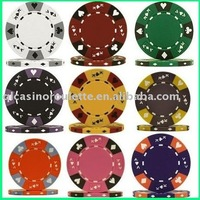 14gram Tri-Color Ace/King Clay Chips