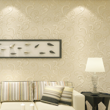 Wallcovering manufacturing heavyweight damask vinyl wallpaper
