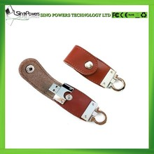 Customized Leather Usb Flash Drive Best Wholesale Price USB Flash Drive