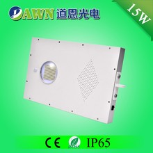 15W high efficiency 2015 new integrated all in one fully waterproof sensor light Superior solar figure