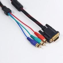 Wholesale! vga to av converter vga to 3rca cable