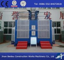 Safety passenger and material hoist ,double cage passenger hoist(1000kg-4000kg)