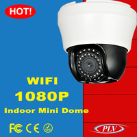 H.264 2 megapixel ip camera wireless varifocal lens digital security 2mp ip ptz dome camera
