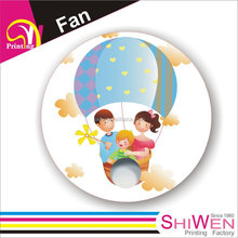 For your promotion or event customise round paper fan