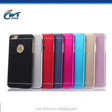 Hot selling for iphone6 case, 2 in 1 Aluminum tpu armor back for iphone 6 special case