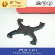 Personalizado- hechos 316 metal de acero inoxidable para los soportes de madera cromado