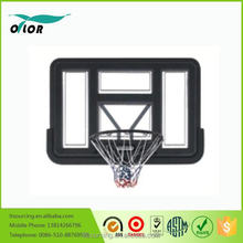 Good price best quality deluxe wall mounting acrylic basketball backboard system with PE frame