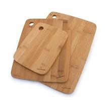 "Bamboo wood cutting Board, Set of 3 Sizes: 8""x6"", 11""x8.5"", 13""x9"""