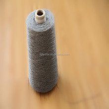 Ne12 Recycled cotton knitting colored eco hosiery socks yarn waste grey