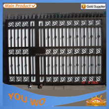 Direct Factory Price Samples Of Steel Gate With Different Powder Coating Colors Surface