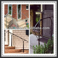 high quality stainless steel exterior handrail lowes