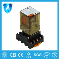 Over under voltage protection relay