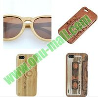 New Arrival OEM Service Laser Engraving Mobile Phone Wood case for iPhone 6 5 5S