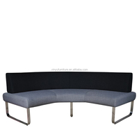 curved fabric bench for outdoor wedding XYN2008
