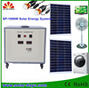 Off-Grid 1KW solar panels,controller,cable,inverter,batteries solar energy system