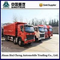 Howo dump truck front tipper 6*4 with strong bucket
