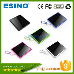 2015 Portable Mini Outdoor Environmental Solar Emergency Mobile Phone Charger