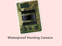 Waterproof Night Vision Motion Detection Video Infrared Scouting Trail Hunting Camera