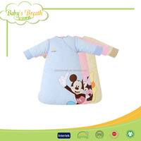 BSB155 100% cotton embroidered unicorn silk sleeping bag, minion sleeping bag