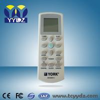 air conditioner remote control york universal