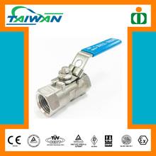 Taiwan High Quality Industrial 1PC DN25 800 WOG SS316L Ball Valve