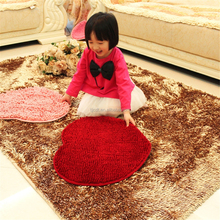 adhensive protective shaggy soft children carpet