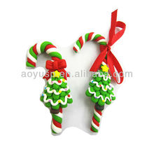 Creative Polymer clay Christmas tree fimo festival tree