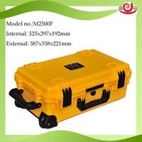 Handle Strong plastic case waterproofIP67 shockproof case with wheels