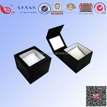 classics black color gift box, jewelry watch box with magnet lid