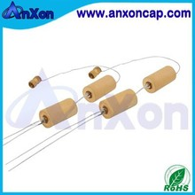 Reactive compensation live-line stock capacitor