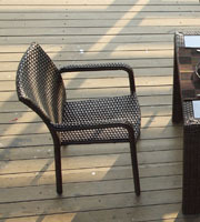 Hot sale Outdoor All Weather cheap rattan dining chairs