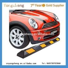 rubber wheel parking stopper