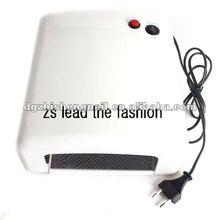 36W UV Lamp Light GEL Curing Nail Dryer 9W Tube Bul White 220-240V With EU Plug
