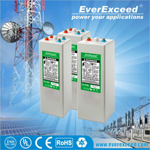 EverExceed 2V 3000ah AGM OPzV battery for solar system